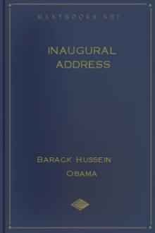 Inaugural Address by Barack Obama