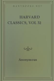 Harvard Classics, vol 32