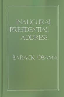 Inaugural Presidential Address by Barack Obama