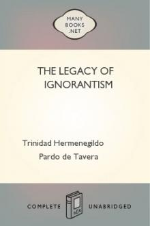 The Legacy of Ignorantism by Trinidad Hermenegildo Pardo de Tavera