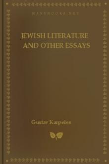 Jewish Literature and Other Essays