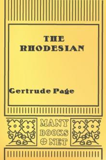 The Rhodesian by Gertrude Page