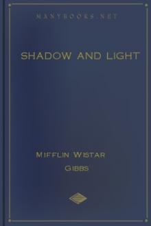 Shadow and Light by Mifflin Wistar Gibbs