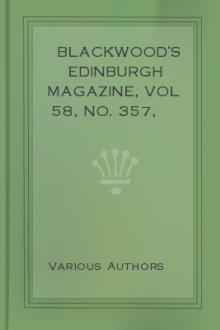 Blackwood's Edinburgh Magazine, Vol 58, No. 357, July 1845