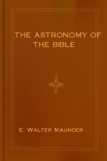 The Astronomy of the Bible
