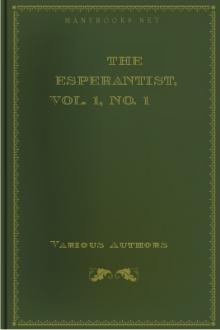 The Esperantist, Vol. 1, No. 1 by Unknown