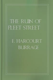 The Ruin of Fleet Street by E. Harcourt Burrage