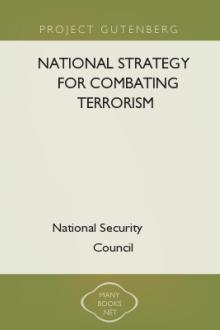 National Strategy for Combating Terrorism by U. S.