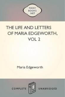 The Life and Letters of Maria Edgeworth, vol 2 by Maria Edgeworth