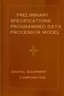 Preliminary Specifications: Programmed Data Processor Model Three (PDP-3) October, 1960 by Digital Equipment Corporation