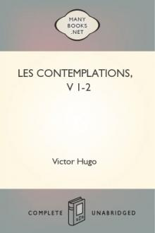 Les contemplations, v 1-2 by Victor Hugo