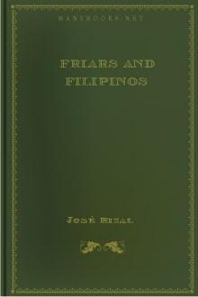 Friars and Filipinos by José Rizal