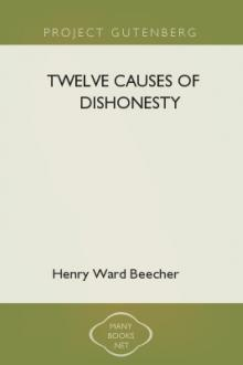 Twelve Causes of Dishonesty by Henry Ward Beecher