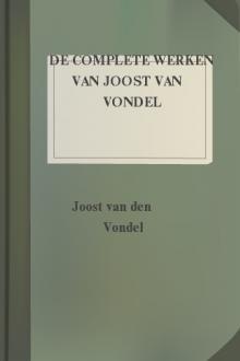 De complete werken van Joost van Vondel