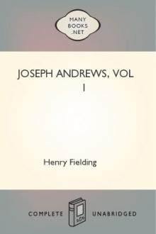 Joseph Andrews, vol 1  by Henry Fielding