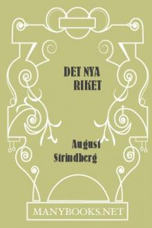 Det Nya Riket by August Strindberg