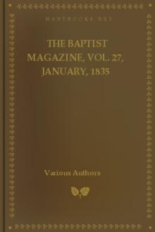 The Baptist Magazine, Vol. 27, January, 1835 by Various