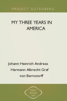 My Three Years in America