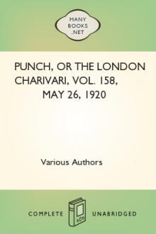 Punch, or the London Charivari, Vol. 158, May 26, 1920
