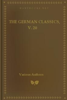 The German Classics, v. 20