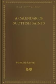 A Calendar of Scottish Saints by Michael Barrett