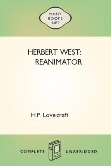 Herbert West: Reanimator by H. P. Lovecraft