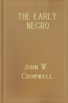 The Early Negro Convention Movement by John W. Cromwell