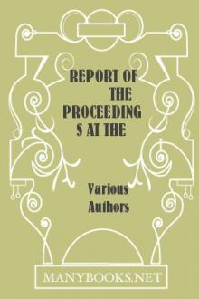 Report of the Proceedings at the Examination of Charles G. Davis, Esq.