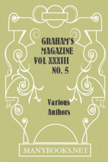 Graham's Magazine Vol XXXIII No. 5 November 1848