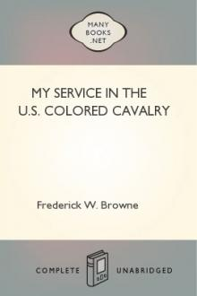My Service in the U.S. Colored Cavalry by Frederick W. Browne