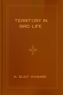Territory in Bird Life by H. Eliot Howard