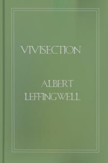 Vivisection by Albert Leffingwell