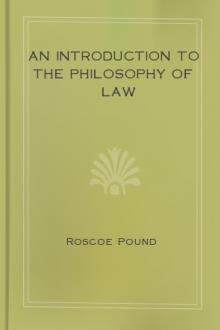 An Introduction to the Philosophy of Law by Roscoe Pound
