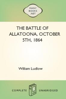 The Battle of Allatoona, October 5th, 1864 by William Ludlow