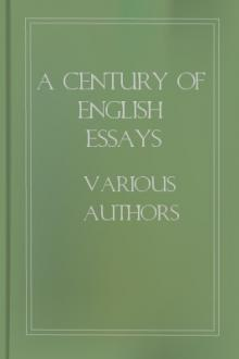 A Century of English Essays by Unknown