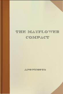 The Mayflower Compact by Unknown