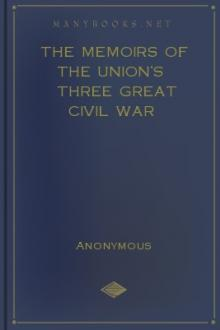 The Memoirs of the Union's Three Great Civil War Generals by Unknown