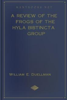 A Review of the Frogs of the Hyla bistincta Group