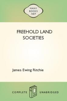 Freehold Land Societies