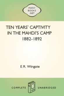 Ten Years' Captivity in the Mahdi's Camp 1882-1892