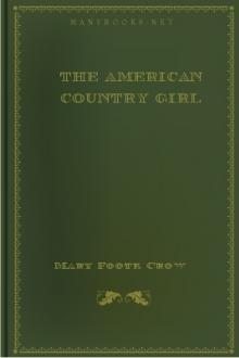 The American Country Girl by Martha Foote Crow