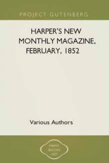 Harper's New Monthly Magazine, February, 1852 by Unknown