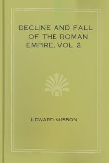 Decline and Fall of the Roman Empire, vol 2 by Edward Gibbon