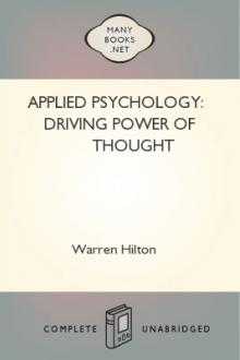 Applied Psychology: Driving Power of Thought by Warren Hilton