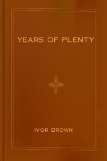 Years of Plenty