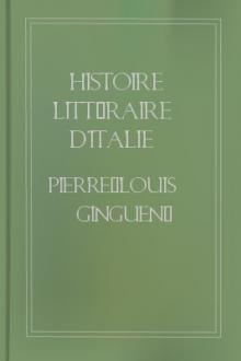 Histoire littéraire d'Italie (4/9)