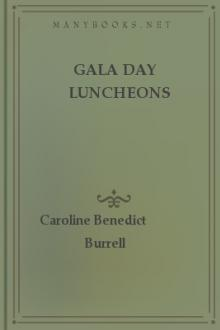 Gala Day Luncheons by Caroline French Benton