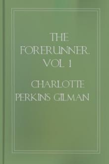 The Forerunner, vol 1 by Charlotte Perkins Gilman