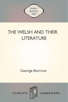 The Welsh and Their Literature by George Borrow
