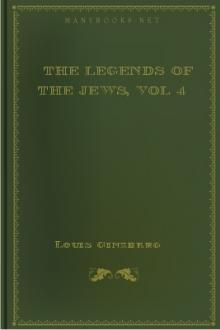 The Legends of the Jews, vol 4